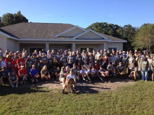 The LeverEdge Volunteers a Day for Marine Corp. Justin Gaernter